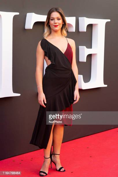 Georgina Amoros during the premiere of the second season of Elite in Madrid on 29 August 2019 Spain