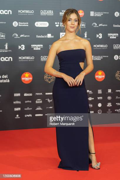 Georgina Amoros poses during a photocall at the Guadi Awards 2020 held at the Auditori del Forum on January 19 2020 in Barcelona Spain