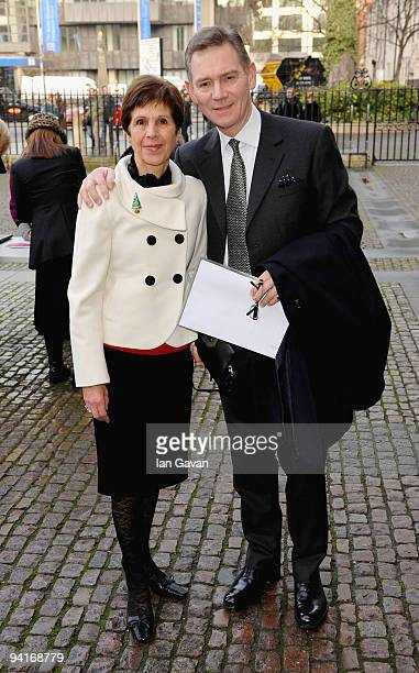 Georgina Andrews and Anthony Andrews attend the Woman's Own Children Of Courage Awards at Westminster Abbey on December 9 2009 in London England