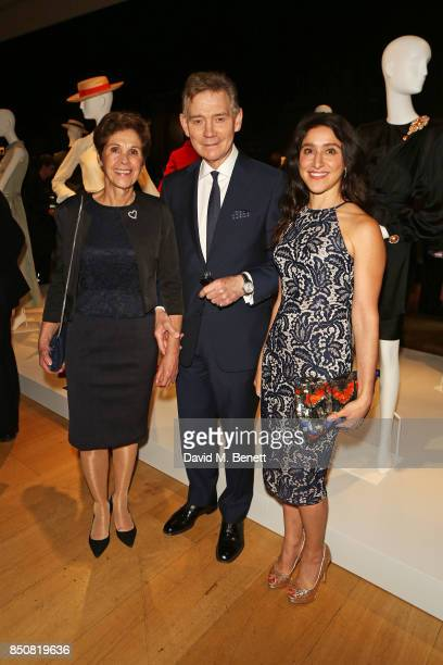 Georgina Andrews Anthony Andrews and Jessica Andrews attend the opening reception for 'Audrey Hepburn The Personal Collection' at Christie's on...