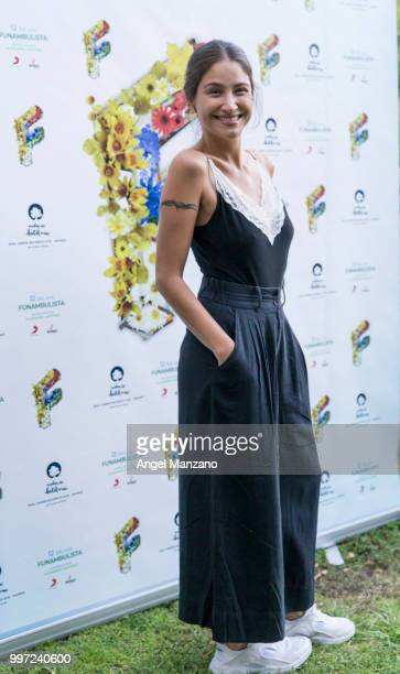 Georgina attends photocall in Funambulista concert at Noches del Bótanico Festival on July 12 2018 in Madrid Spain