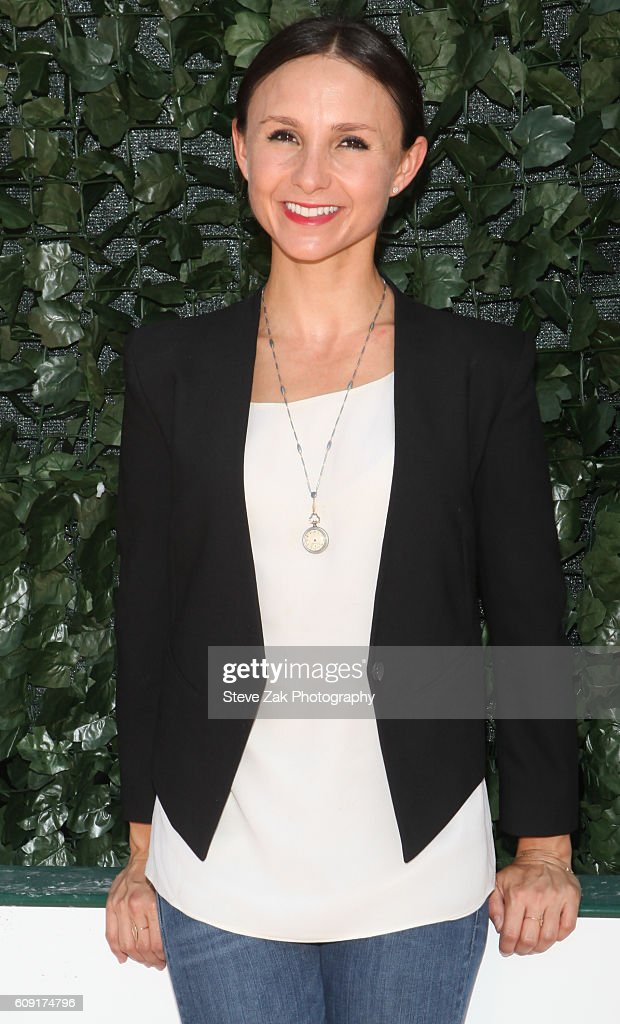 Georgina Bloombeg attends Third Annual Rolex Central Park Horse Show Kick Off at Wollman Rink Central Park on September 20, 2016 in New York City.