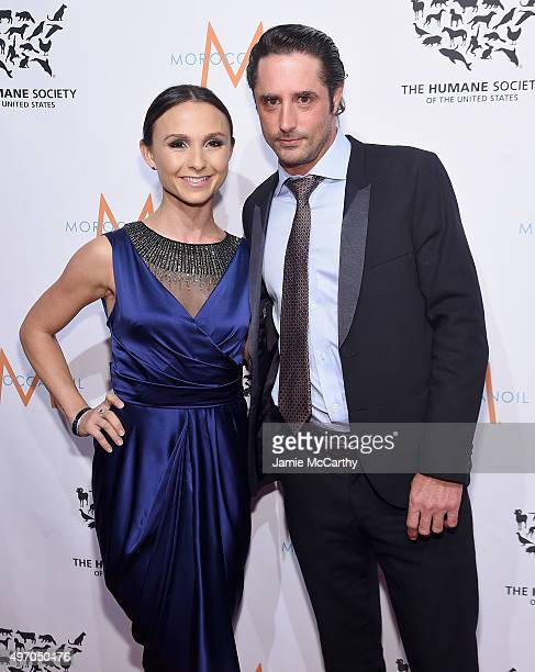 Georgina Bloomberg and Prince Lorenzo Borghese attend the 2015 To The Rescue New York Gala at Cipriani 42nd Street on November 13 2015 in New York...