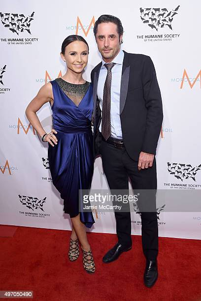 Georgina Bloomberg and Prince Lorenzo Borghese attend the 2015 To The Rescue! New York Gala at Cipriani 42nd Street on November 13, 2015 in New York...