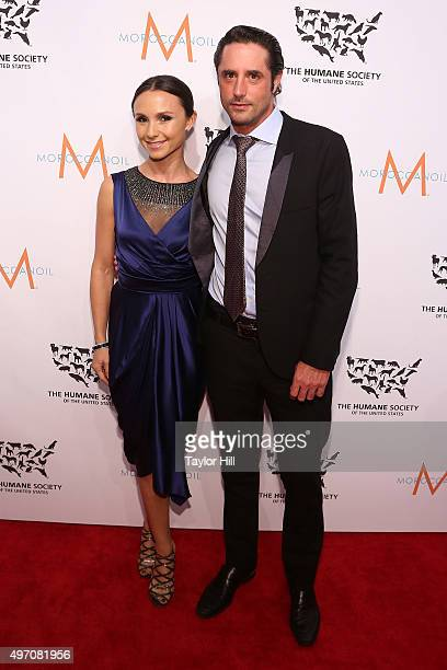 Georgina Bloomberg and Prince Lorenzo Borghese attend The Humane Society Gala at Cipriani 42nd Street on November 13, 2015 in New York City.