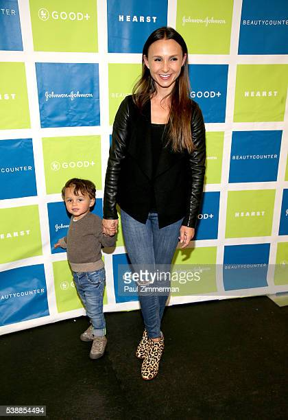 Georgina Bloomberg and son Jasper Michael Brown Quintana attend the Jessica and Jerry Seinfeld host GOOD Foundation's 2016 Bash Sponsored by...