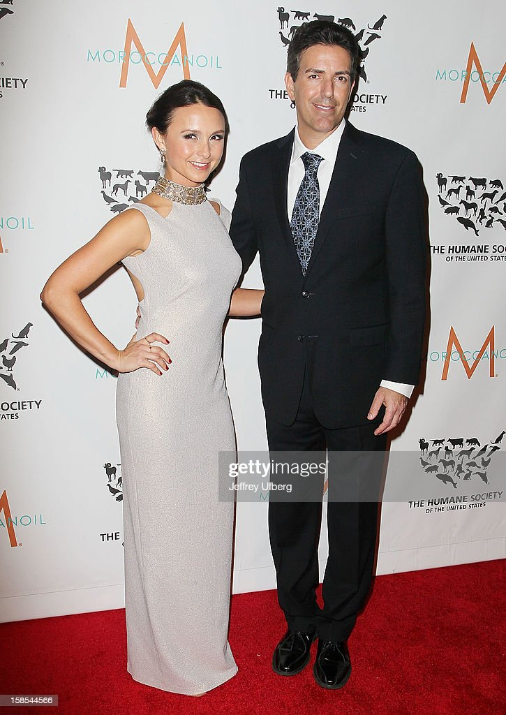 Georgina Bloomberg and Wayne Pacelle attend The Humane Society of the United States presents To The Rescue! gala benefiting post hurricane Sandy efforts at Cipriani 42nd Street on December 18, 2012 in New York City.