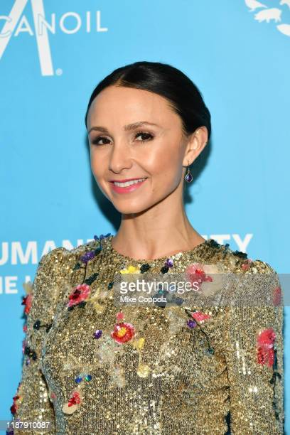 Georgina Bloomberg arrives to the Humane Society Of The United States To The Rescue New York Gala 2019 at Cipriani 42nd Street on November 15 2019 in...