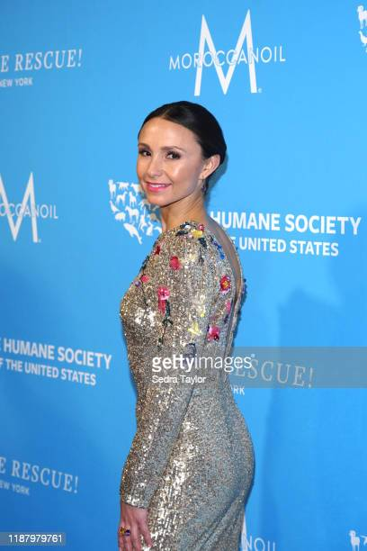 Georgina Bloomberg arrives to The Humane Society of the United States To The rescue! New York Gala 2019 at Cipriani 42nd Street on November 15, 2019...