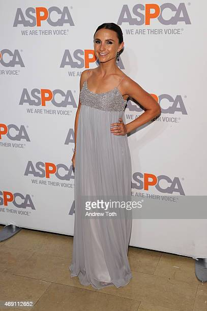 Georgina Bloomberg attends the ASPCA'S 18th Annual Bergh Ball honoring Edie Falco and Hilary Swank at The Plaza Hotel on April 9 2015 in New York City