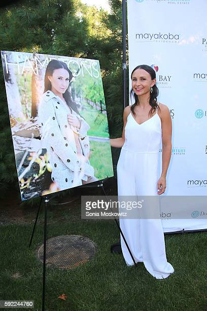 Georgina Bloomberg attends the Hamptons Magazine Fall Fashion Issue Event at Private Estate on August 19 2016 in Southampton New York