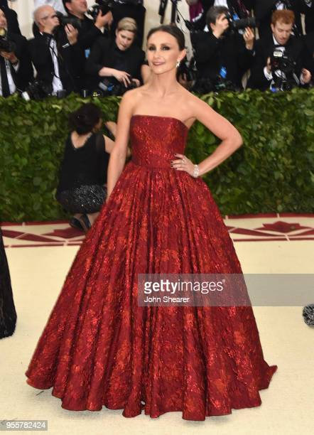 Georgina Bloomberg attends the Heavenly Bodies Fashion The Catholic Imagination Costume Institute Gala at The Metropolitan Museum of Art on May 7...