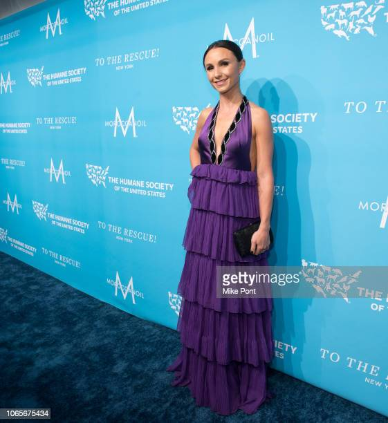 Georgina Bloomberg attends The Humane Society Of The United States 9th Annual To The Rescue Gala at Cipriani 42nd Street on November 09 2018 in New...
