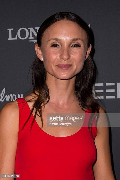 Georgina Bloomberg attends the Longines Masters Los Angeles at Long Beach Convention Center on September 29 2016 in Long Beach California