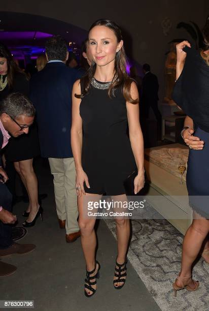 Georgina Bloomberg attends the private opening celebration of RH West Palm on November 18 2017 in West Palm Beach Florida