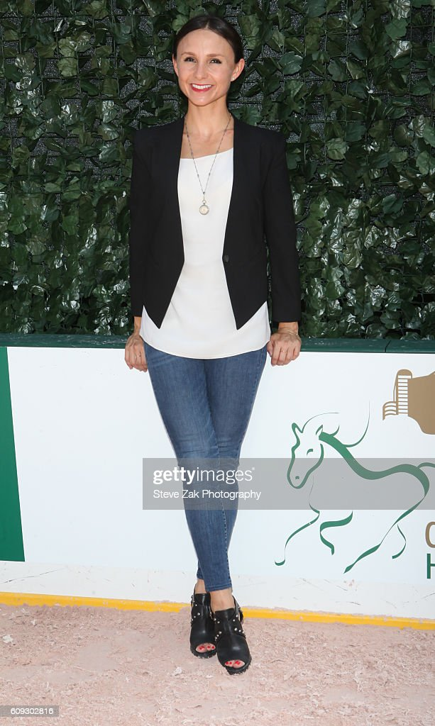Georgina Bloomberg attends Third Annual Rolex Central Park Horse Show Kick Off at Wollman Rink Central Park on September 20, 2016 in New York City.