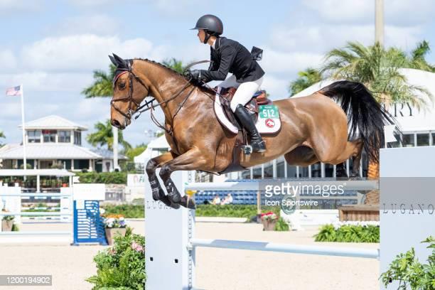 Georgina Bloomberg during the Winter Equestrian Festivals $73,000 FEI CaptiveOne Advisors1.50m Classic at The Palm Beach International Equestrian...