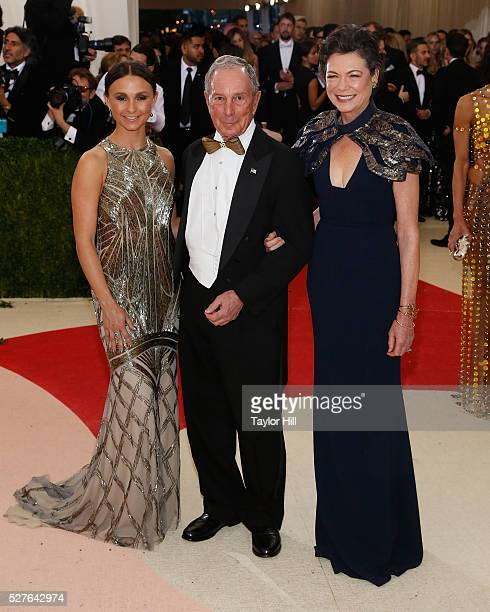 Georgina Bloomberg Michael Bloomberg and Diana Taylor attend 'Manus x Machina Fashion in an Age of Technology' the 2016 Costume Institute Gala at the...