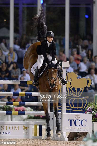 Georgina Bloomberg participates In the Palm Beach International Equestrian Center Events at Palm Beach International Equestrian Center on March 14...