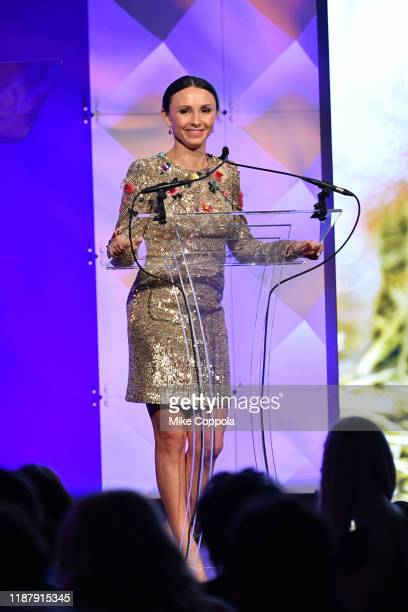 Georgina Bloomberg speaks onstage at the Humane Society Of The United States To The Rescue! New York Gala 2019 at Cipriani 42nd Street on November...