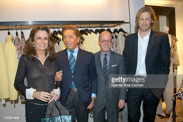 Georgina Brondolini Valentino Robert Burke and Bruce Hoeksema