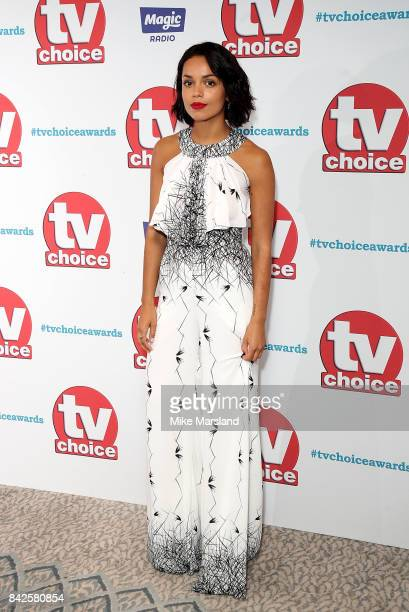 Georgina Campbell arrives for the TV Choice Awards at The Dorchester on September 4 2017 in London England