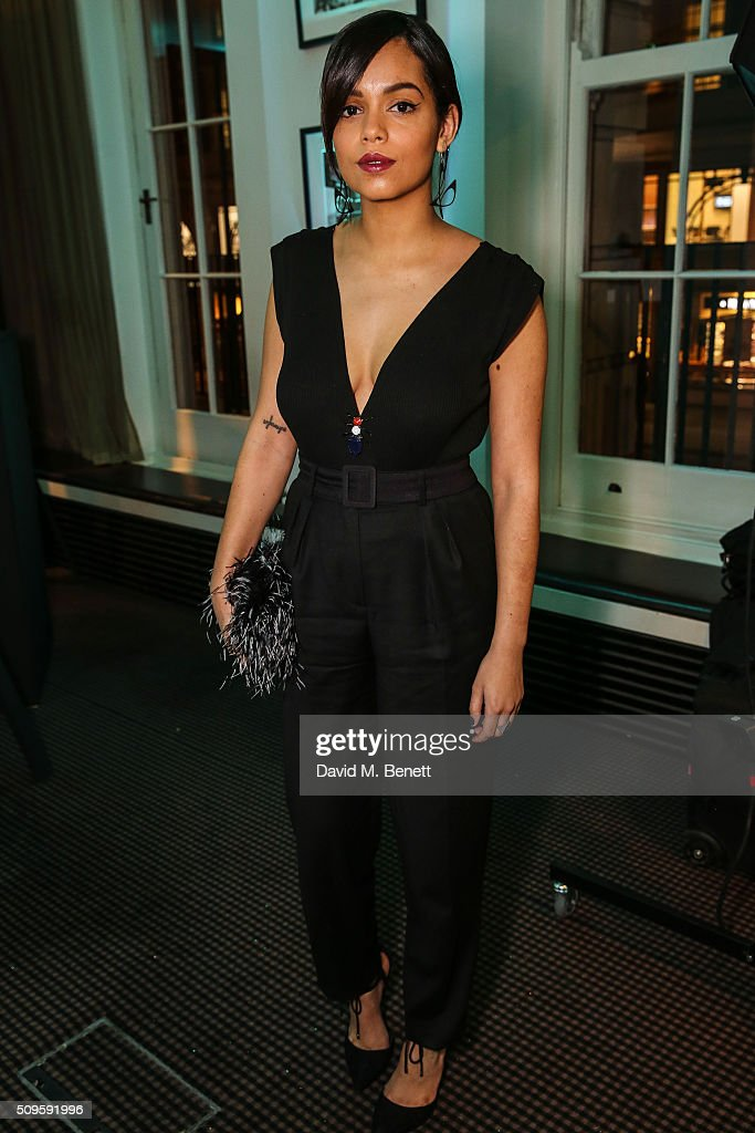 Georgina Campbell attends the BAFTA Film Gala in aid of the 'Give Something Back' campaign at BAFTA Piccadilly on February 11, 2016 in London, England.