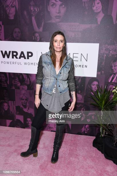 Georgina Cates attends TheWrap's Power Women Summit at InterContinental Los Angeles Downtown on November 1 2018 in Los Angeles California