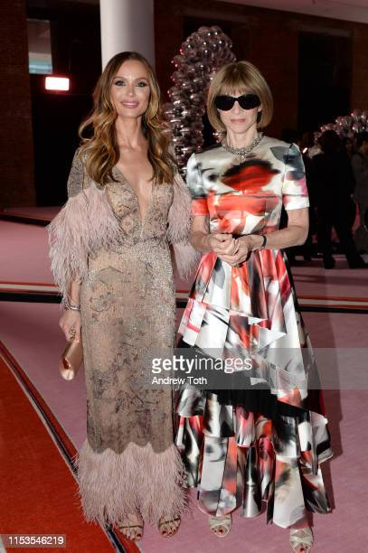 Georgina Chapman and Anna Wintour attend the CFDA Fashion Awards on June 03 2019 in New York City