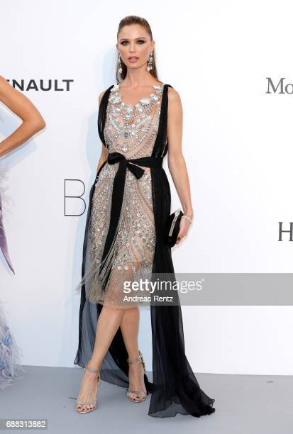 Georgina Chapman arrives at the amfAR Gala Cannes 2017 at Hotel du CapEdenRoc on May 25 2017 in Cap d'Antibes France