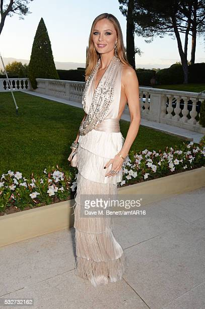 Georgina Chapman attends amfAR's 23rd Cinema Against AIDS Gala at Hotel du CapEdenRoc on May 19 2016 in Cap d'Antibes France