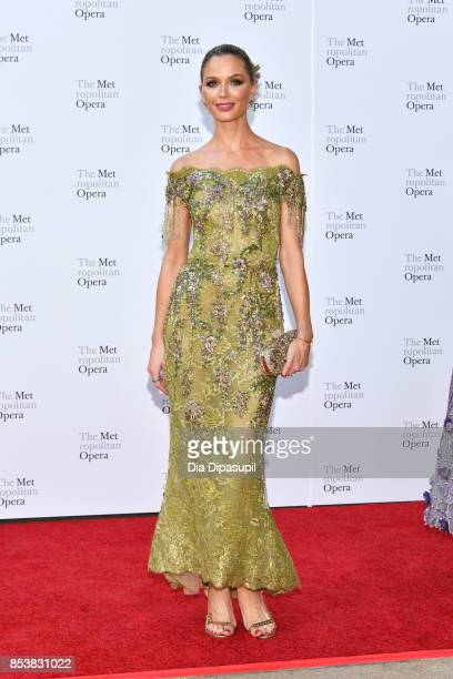 Georgina Chapman attends the 2017 Metropolitan Opera Opening Night at The Metropolitan Opera House on September 25 2017 in New York City