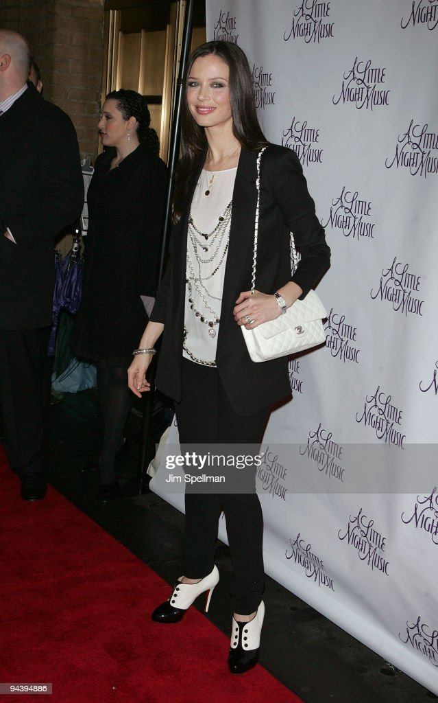 Georgina Chapman attends the 'A Little Night Music' Broadway opening night at the Walter Kerr Theatre on December 13, 2009 in New York City.