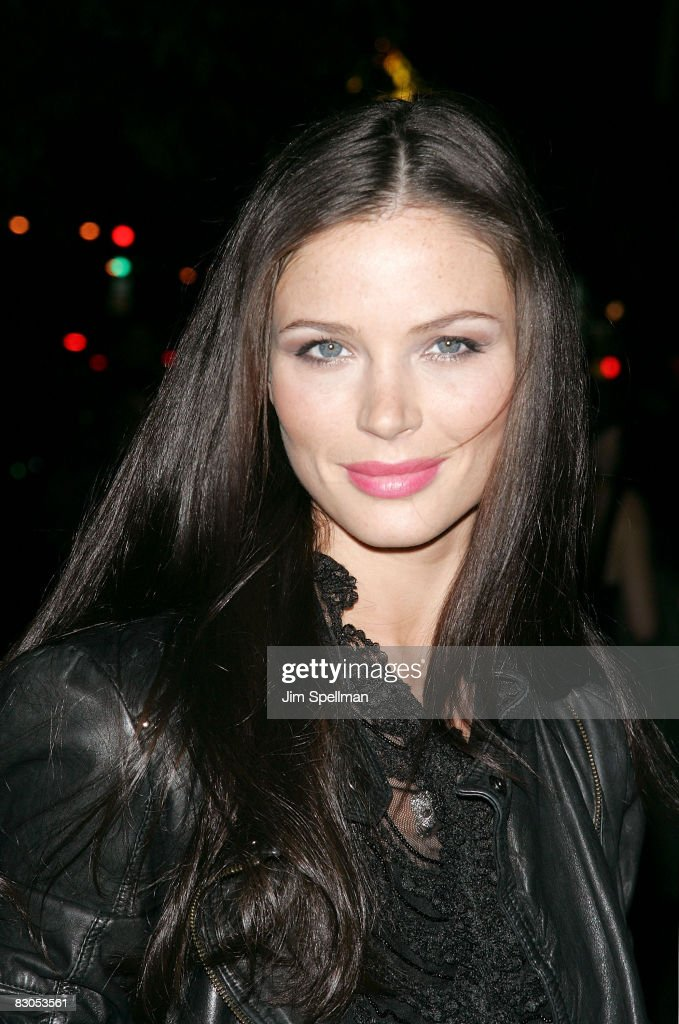 Georgina Chapman attends the Cinema Society and Lancome screening of 'Rachel Getting Married' at the Landmark Sunshine Theater on September 25, 2008 in New York City.