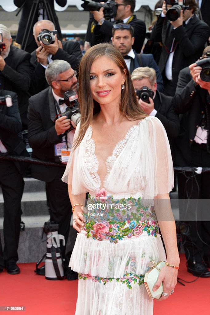 Georgina Chapman attends the closing ceremony and Premiere of 'La Glace Et Le Ciel' ('Ice And The Sky') during the 68th annual Cannes Film Festival on May 24, 2015 in Cannes, France.