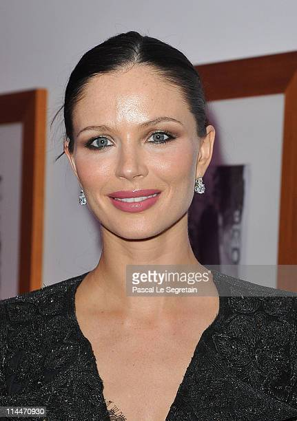 Georgina Chapman attends the Elle And Dior party during the 64th Annual Cannes Film Festival on May 20 2011 in Cannes France
