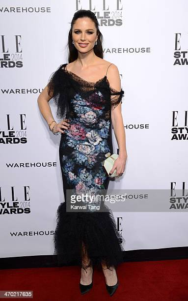Georgina Chapman attends the Elle Style Awards 2014 at One Embankment on February 18 2014 in London England