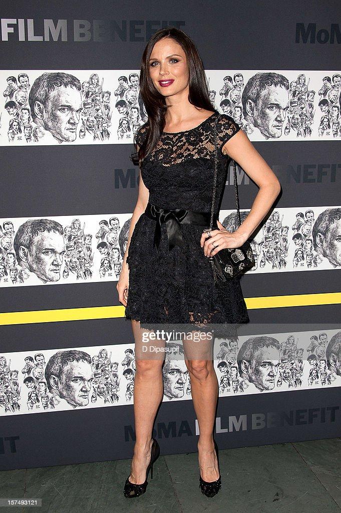 Georgina Chapman attends the Museum of Modern Art film benefit honoring Quentin Tarantino on December 3, 2012 in New York City.