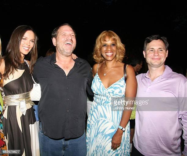 Georgina Chapman Marchessa Harvey Weinstein Gayle King and Jason Binn