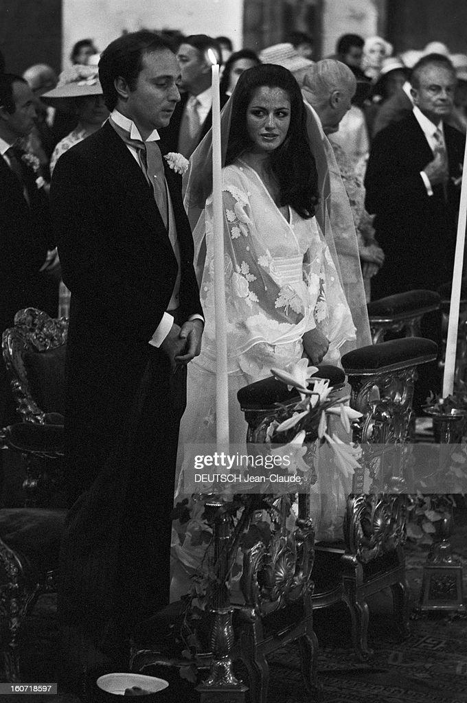 Georgina De Faucigny-lucinge Marries Tilberto Brandolini : News Photo