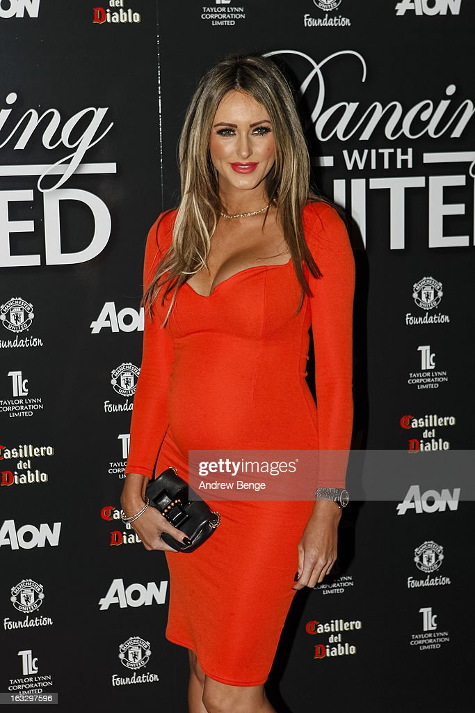 Georgina Doresett attends the Manchester United Foundations Dancing with united charity fundraiser at Lancashire County Cricket Club on March 7, 2013 in Manchester, England.
