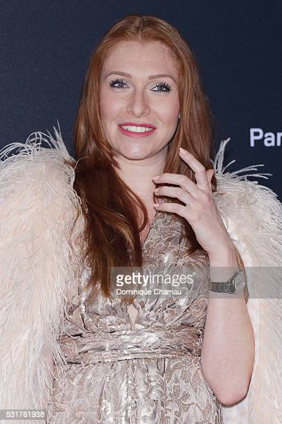Georgina Fleur attends the Chopard Party at Port Canto during the 69th annual Cannes Film Festival on May 16 2016 in Cannes France