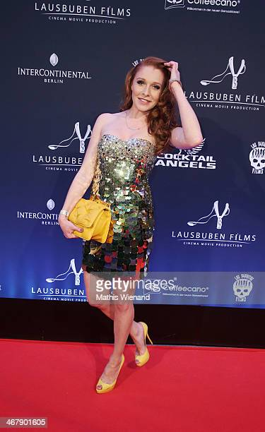 Georgina Fleur attends the LB Film Celebrates 10th Anniversary at Hotel Intercontinental on February 8 2014 in Berlin Germany
