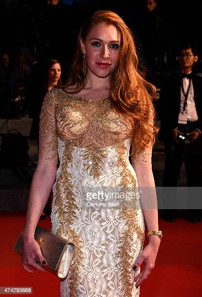 Georgina Fleur attends the Premiere of 'Nie Yinniang' during the 68th annual Cannes Film Festival on May 21 2015 in Cannes France
