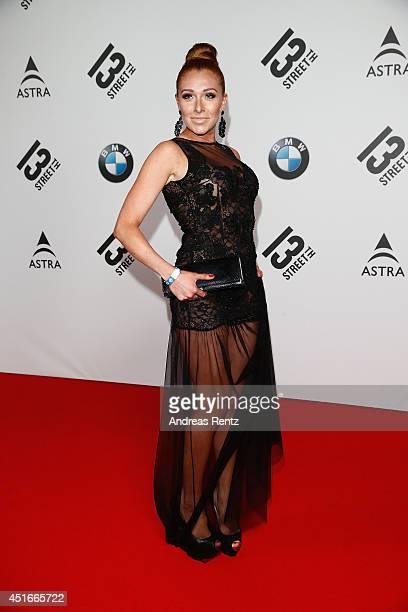 Georgina Fleur attends the Shocking Shorts Award 2014 at Amerika Haus on July 3 2014 in Munich Germany