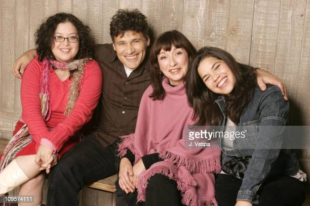 Georgina Garcia Riedel director and writer Steven Bauer Elizabeth Pena and America Ferrera