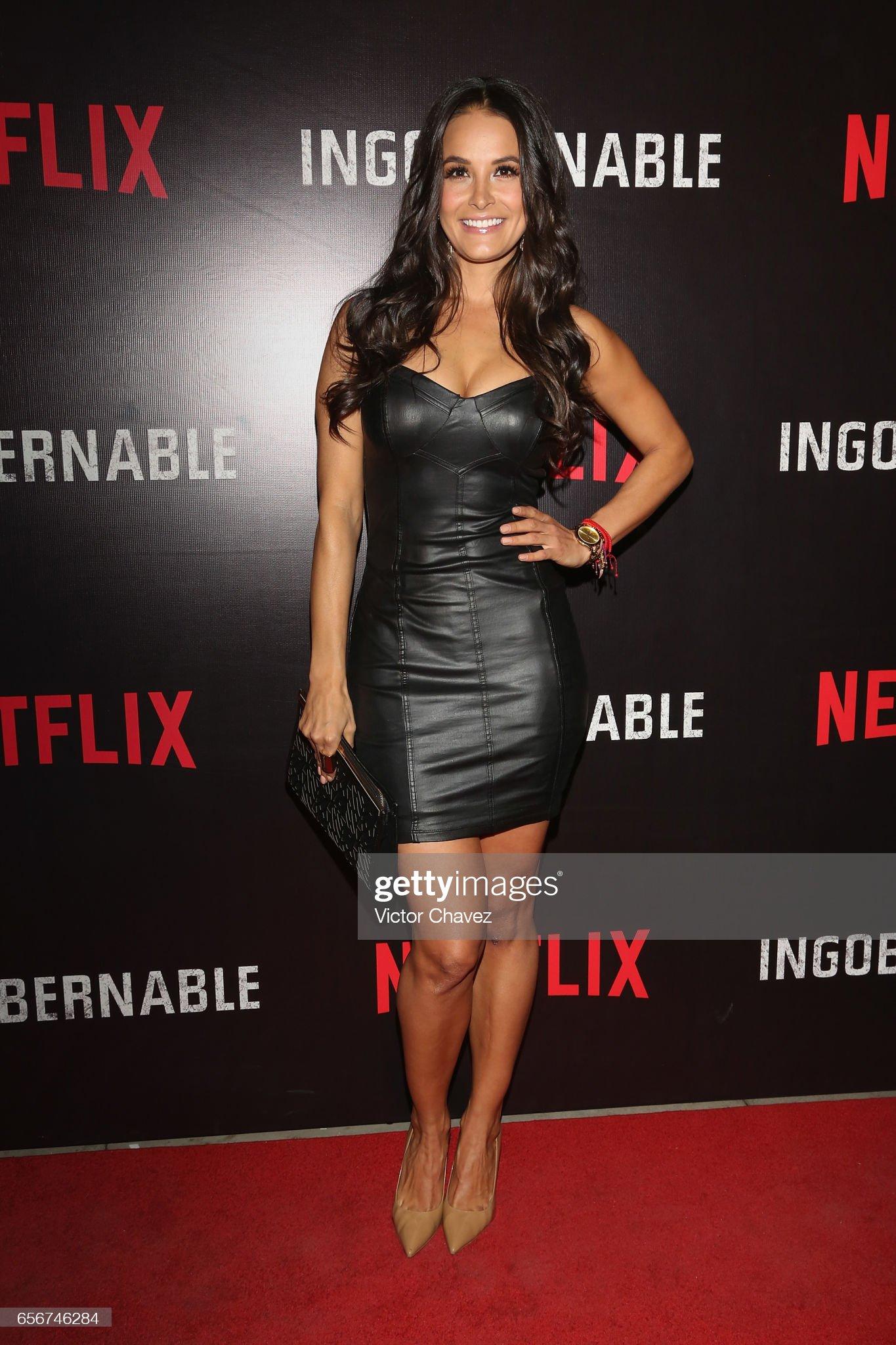 ¿Cuánto mide Gina Holguín? - Altura - Real height Georgina-holguin-attends-the-launch-of-netflixs-series-ingobernable-picture-id656746284?s=2048x2048