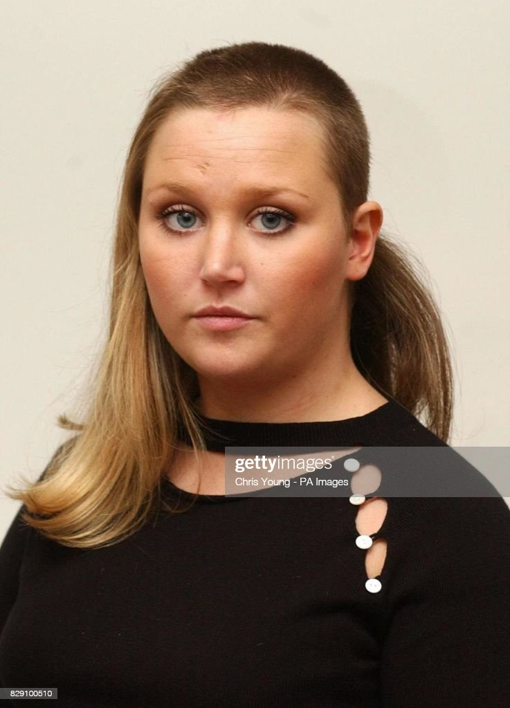 Georgina Ludden Shows The Haircut Pictures Getty Images