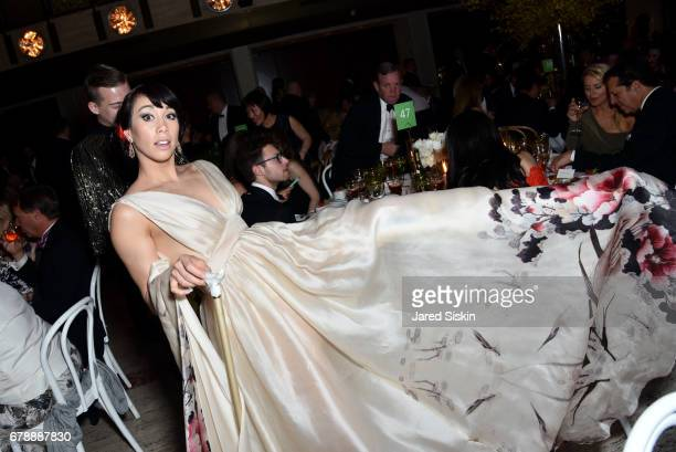Georgina Pazcoguin attends the New York City Ballet 2017 Spring Gala at David H Koch Theater Lincoln Center on May 4 2017 in New York City