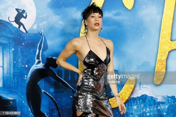 Georgina Pazcoguin attends the world premiere of Cats at Alice Tully Hall Lincoln Center on December 16 2019 in New York City